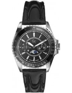 Chic Time | Montre Femme Guess Collection GC I29006M2 Bracelet verni noir  | Prix : 259,90 €