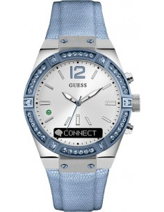 Chic Time | Montre Connectée Guess Connect C0002M5 Smartwatch Bleue  | Prix : 322,15 €