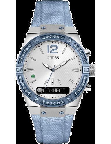 Montre Femme Guess Connect C0002M5 Bleu