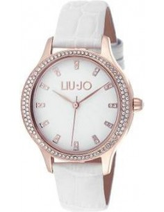 Chic Time   Montre Femme Liu Jo Luxury Giselle TLJ1008 Blanc    Prix : 59,15€
