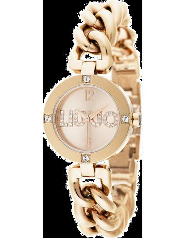 Montre Femme Liu Jo Luxury Koko TLJ720 Or Rose