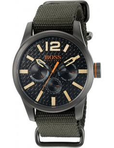 Chic Time | Montre Homme Hugo Boss Boss Orange 1513312 Vert  | Prix : 149,40 €