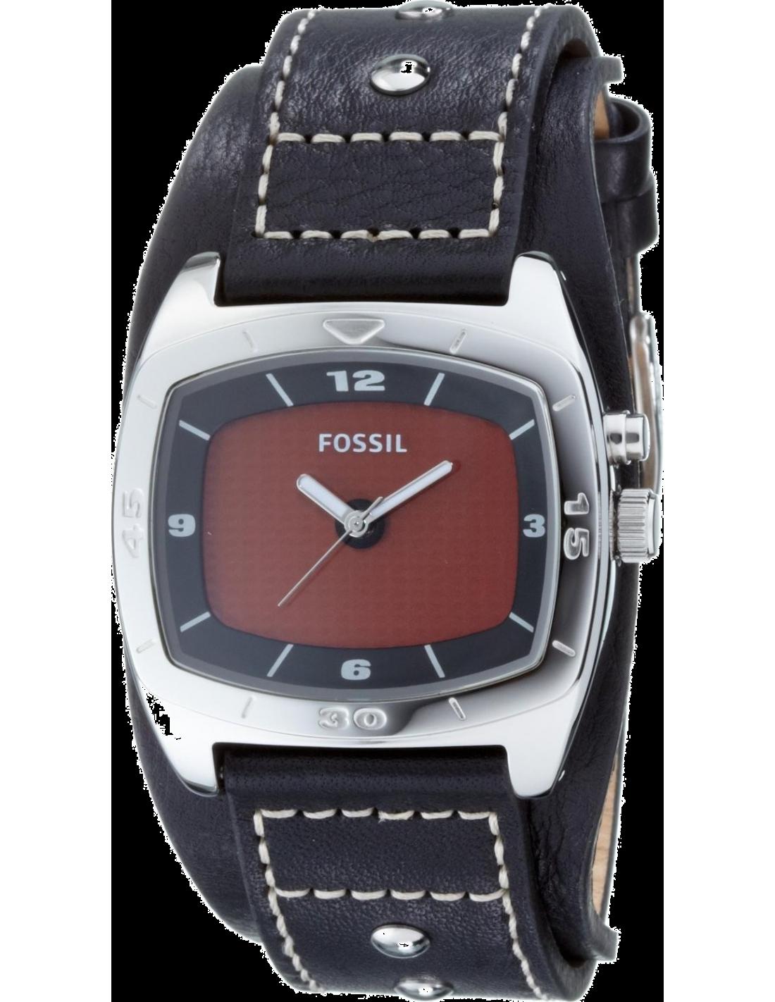 Montre Homme Fossil AM3696 Bracelet en Cuir noir à 84,90 € ➤ Revend