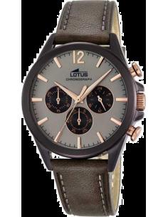 Chic Time | Montre Homme Lotus L18200/1 Marron  | Prix : 179,00€