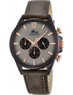 Chic Time | Montre Homme Lotus L18200/1 Marron  | Prix : 179,00 €