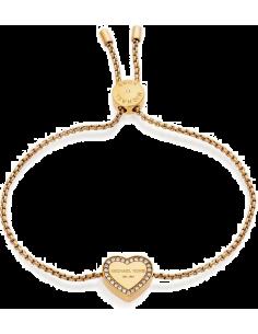 Chic Time | Bracelet Michael Kors Brilliance MKJ5389710 coeur doré  | Prix : 71,20€