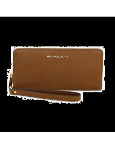 Chic Time | Pochette Michael Kors Jet Set Travel marron  | Prix : 169,00€