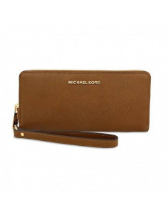 Chic Time | Pochette Michael Kors Jet Set Travel marron  | Prix : 169,00 €