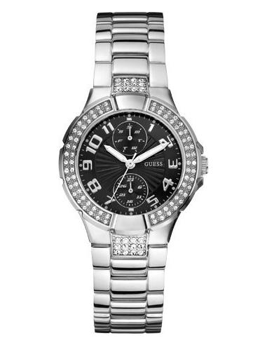 Chic Time | Montre Guess Prism U12003L2 Cadran noir  | Prix : 239,90€