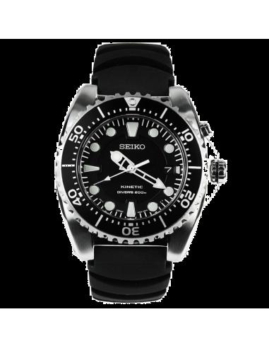 Chic Time   Montre Homme Seiko Diver SKA371P2 Noir    Prix : 379,00€