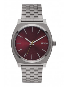 Chic Time | Montre Femme Nixon Time Teller A045-2073 Argent  | Prix : 159,00€