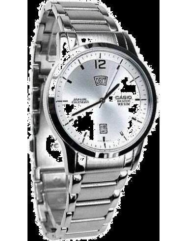 Chic Time   Montre Homme Casio BEM-102D-7AVDF Argent    Prix : 74,90€