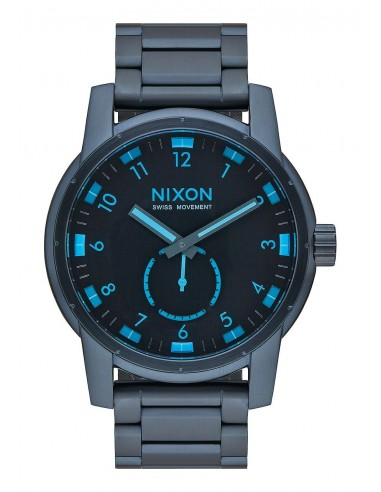 Chic Time | Montre Homme Nixon Patriot A937-2224 Bleu  | Prix : 375,00€
