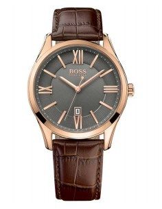 Chic Time | Montre Homme Hugo Boss Ambassador 1513387 Marron  | Prix : 211,65 €