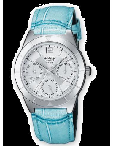Chic Time | Montre Femme Casio Collection LTP-2069L-7A2VEF Bleu  | Prix : 40,00€