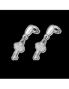 Chic Time | Boucles d'oreilles Lotus Style LS1783-4/1  | Prix : 23,00€