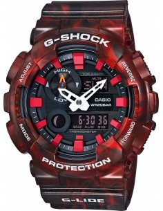 Chic Time | Montre Homme Casio G-Shock GAX-100MB-4AER Rouge  | Prix : 159,00 €
