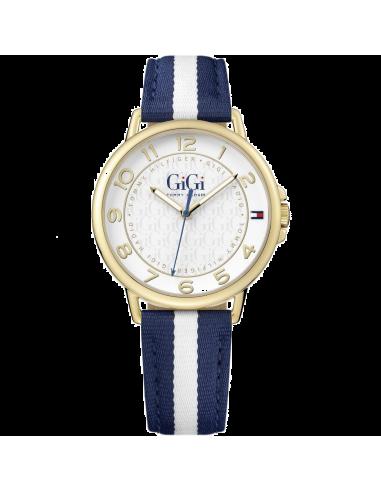 Chic Time | Montre Femme Tommy Hilfiger Gigi 1781723 Bleu  | Prix : 159,00€