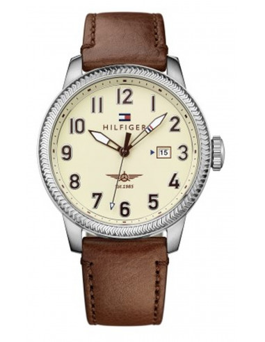 Chic Time | Montre Homme Tommy Hilfiger Jasper 1791315 Marron  | Prix : 119,00€
