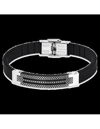 Chic Time   Bracelet Lotus Style Man in Black LS1797-2/4    Prix : 27,30€