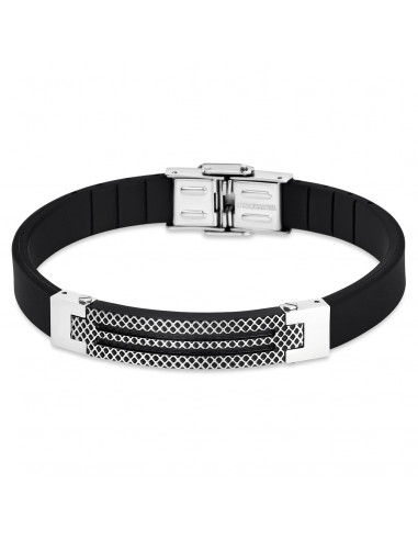 Chic Time | Bracelet Lotus Style Man in Black LS1797-2/4  | Prix : 27,30€