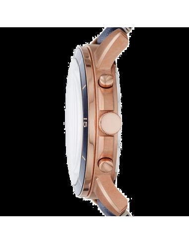 Chic Time   Montre Homme Fossil Grant FS5237 Bleu    Prix : 159,00€