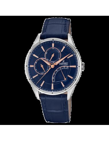 Chic Time | Montre Homme Festina Multifunction F16974/3 Bleu  | Prix : 138,00€