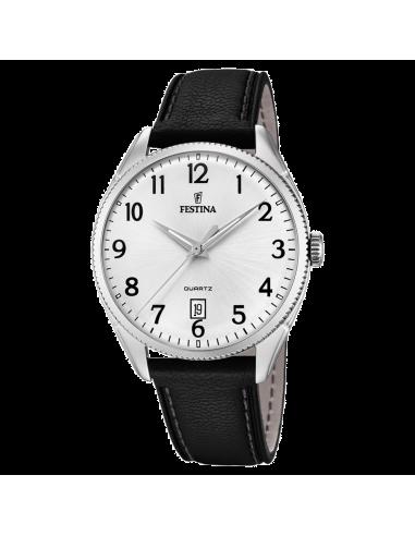 Chic Time | Montre Homme Festina Classic F16977/1 Noir  | Prix : 84,00€
