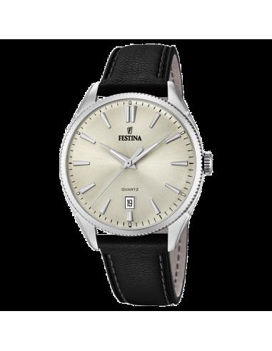 Chic Time | Montre Homme Festina Classic F16977/3 Noir  | Prix : 109,00€