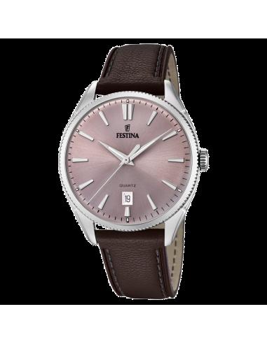 Chic Time | Montre Homme Festina Classic F16977/4 Marron  | Prix : 109,00€