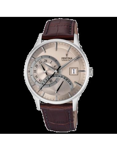 Chic Time | Montre Homme Festina F16983/2 Marron  | Prix : 117,00€