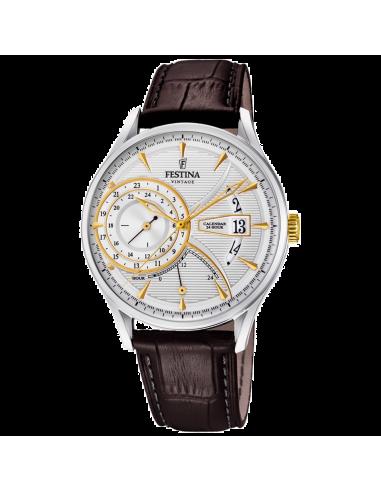 Chic Time | Montre Homme Festina F16985/2 Marron  | Prix : 144,00€