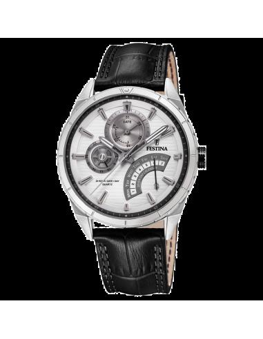 Chic Time | Montre Homme Festina F16986/1 Noir  | Prix : 108,00€