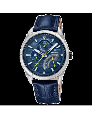 Chic Time   Montre Homme Festina F16986/2 Bleu    Prix : 123,00€