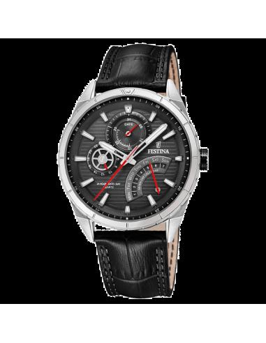 Chic Time | Montre Homme Festina F16986/3 Noir  | Prix : 119,00€