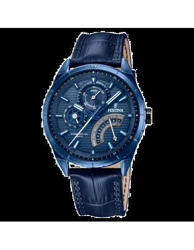 Chic Time | Montre Homme Festina F16987/1 Bleu  | Prix : 124,00€