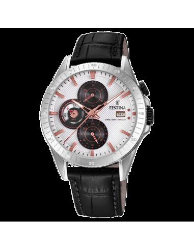 Chic Time | Montre Homme Festina Multifunction F16990/1 Noir  | Prix : 129,00€