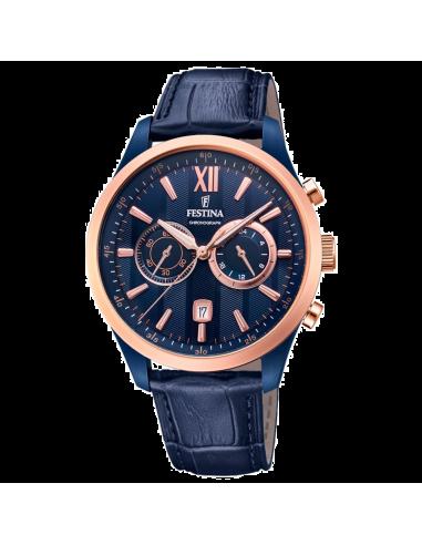 Chic Time | Montre Homme Festina Sport F16998/1 Bleu  | Prix : 169,00€