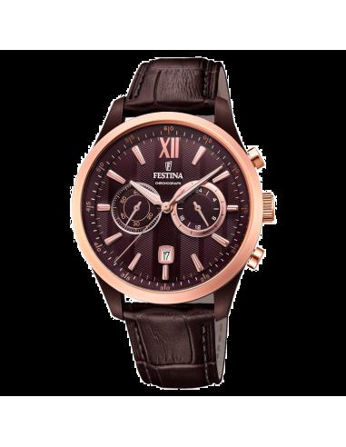 Chic Time | Montre Homme Festina Sport F16999/1 Marron  | Prix : 138,00€