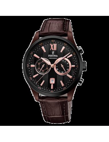 Chic Time | Montre Homme Festina Sport F16999/2 Marron  | Prix : 169,00€
