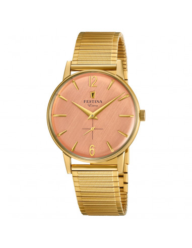 Chic Time | Montre Homme Festina Extra F20251/3 Or  | Prix : 128,00€