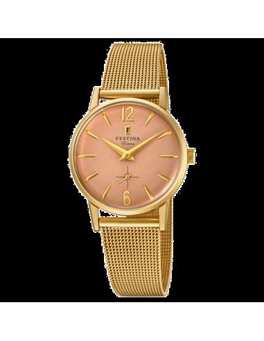 Chic Time | Montre Femme Festina Extra F20259/2 Or  | Prix : 49,75€
