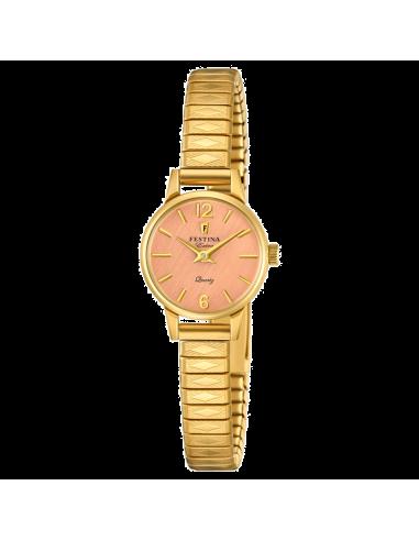 Chic Time | Montre Femme Festina Extra F20263/2 Or  | Prix : 149,00€