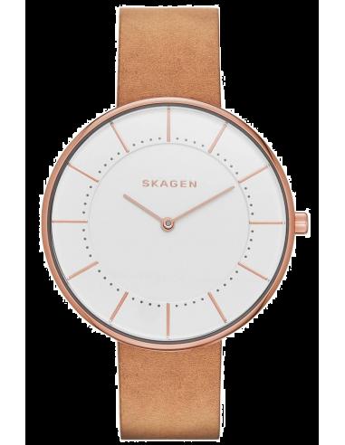Chic Time | Montre Femme Skagen Gitte SKW2558 Marron  | Prix : 119,00€