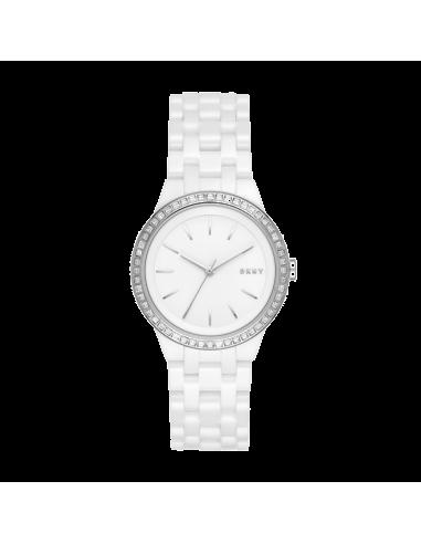 Chic Time | Montre Femme DKNY Park Slope NY2528 Blanc  | Prix : 265,99€