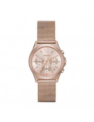 Chic Time | Montre Femme DKNY NY2486 Or Rose  | Prix : 132,99€