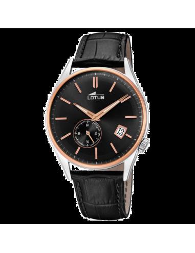 Chic Time | Montre Homme Lotus L18356/3 Noir  | Prix : 139,00€