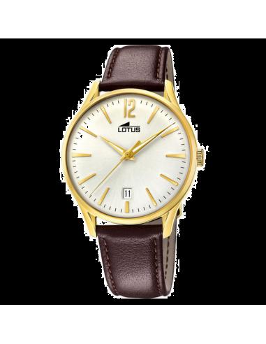 Chic Time | Montre Homme Lotus Revival L18403/1 Marron  | Prix : 109,00€