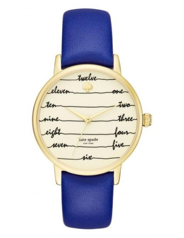 Chic Time | Montre Femme Kate Spade Metro KSW1238 Bleu  | Prix : 159,20€