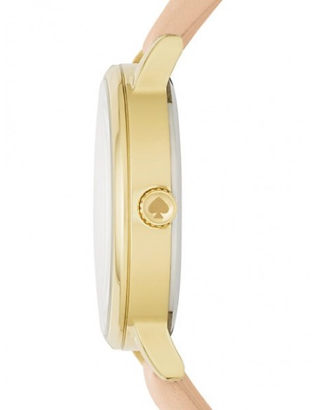 Chic Time | Montre Femme Kate Spade Metro KSW1245 Beige  | Prix : 159,20 €
